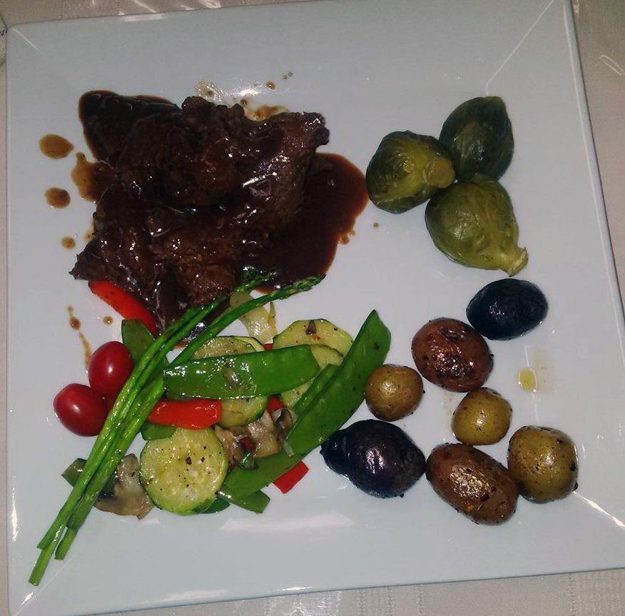 Roast Beef au jus